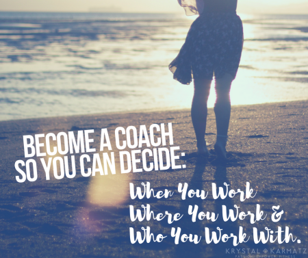 2017 become a coach so you can decide